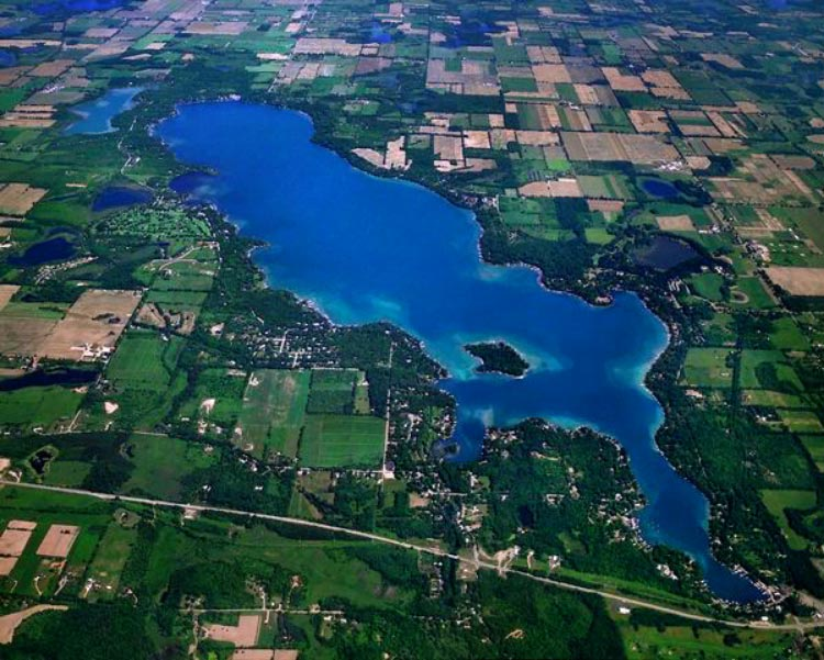 Gull Lake Areal View