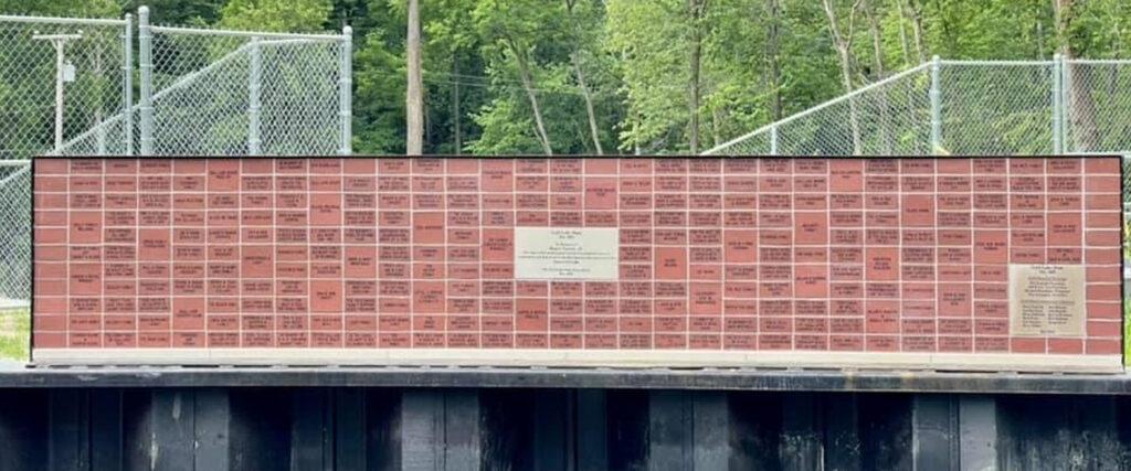 Gull Lake Dam Legacy Wall
